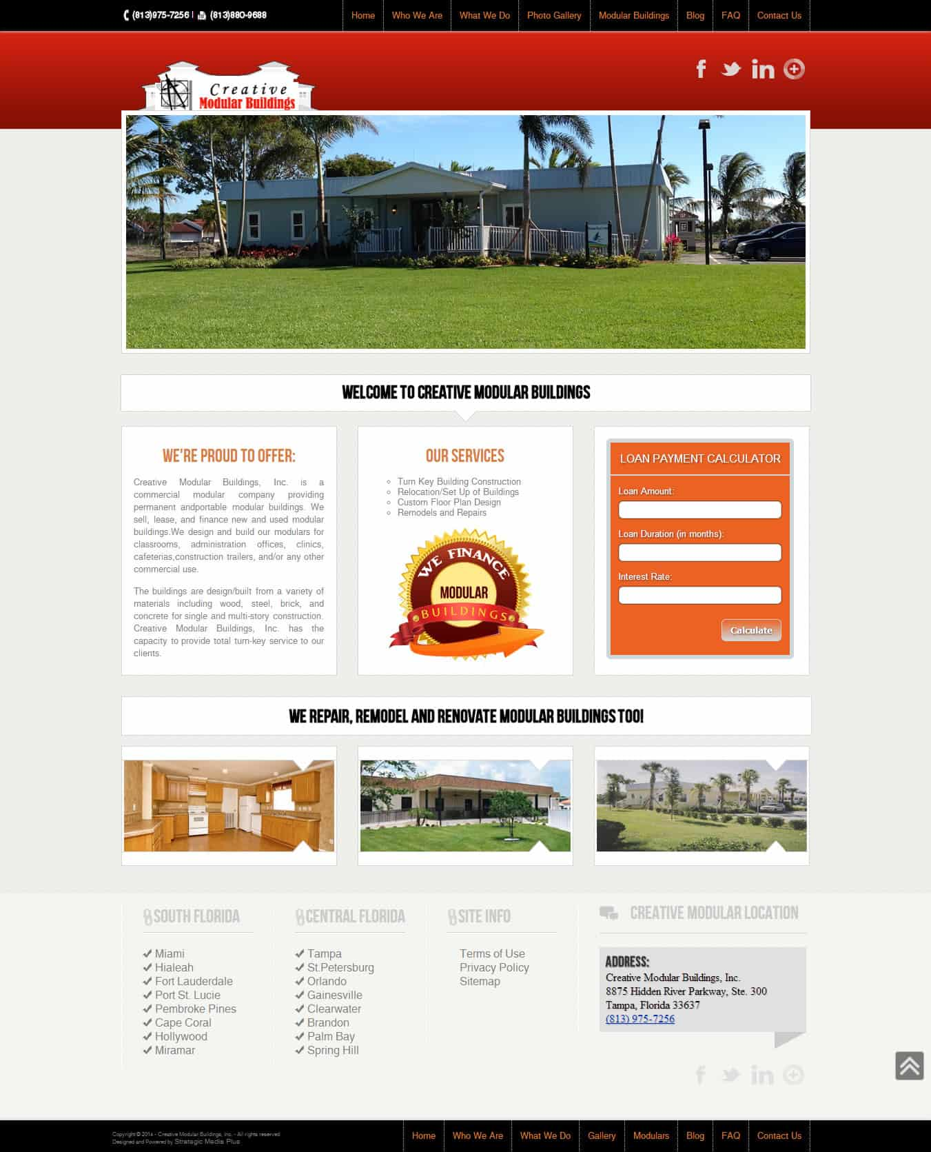 Need a website like CreativeModular.com? Strategic Media Plus specializes in SEO Websites, Local SEO, Social Media, Email Marketing - Call (877) 855-5241
